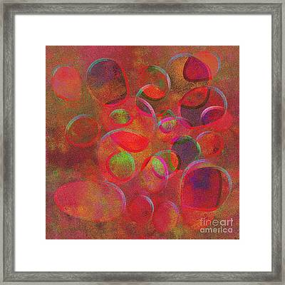 1153 Abstract Thought Framed Print