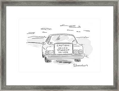 New Yorker June 19th, 2000 Framed Print