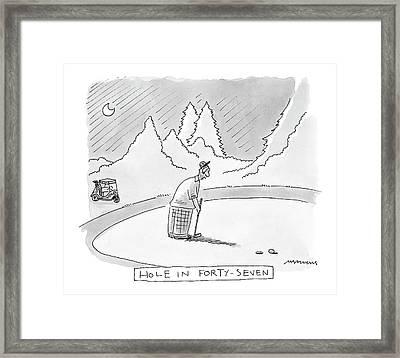 New Yorker August 21st, 2000 Framed Print by Mick Stevens
