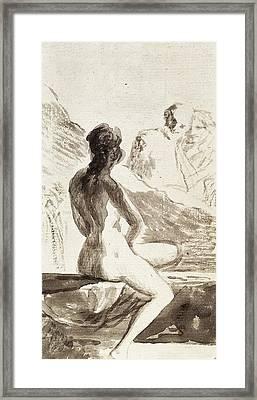 Goya Y Lucientes, Francisco De Framed Print by Everett