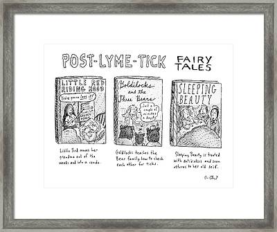 Post-lyme-tick Fairy Tales Framed Print