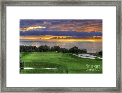 11th Green - Trump National Golf Course Framed Print by Eddie Yerkish