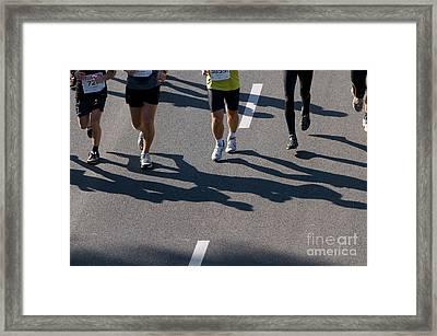 11th Poznan Marathon Framed Print by Michal Bednarek