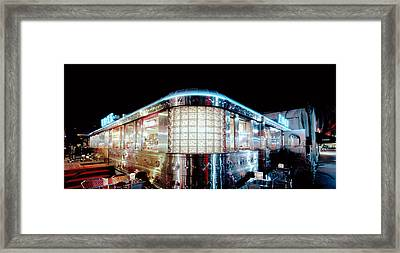11th Street Diner Framed Print