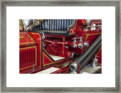 1915 Lafrance Fire Engine Framed Print