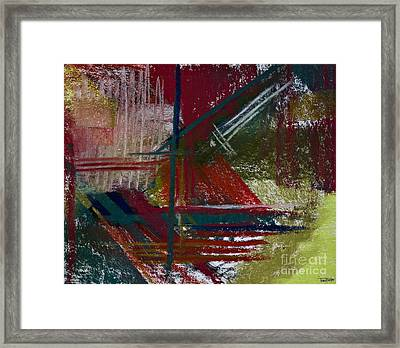 Rough Diamond Framed Print by Tracy L Teeter