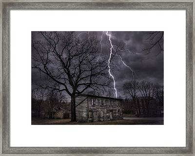 12-21-12 Framed Print by Lori Deiter