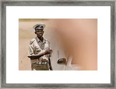 Africa Framed Print