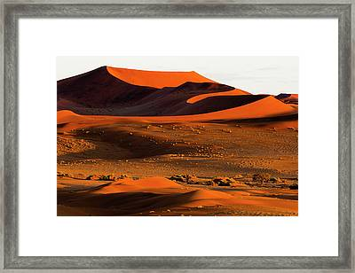 Africa, Namibia, Namib-naukluft Framed Print by Jaynes Gallery