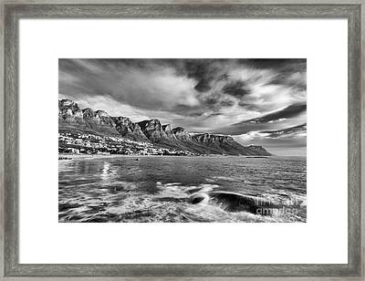 12 Apostles Framed Print by Neil Overy