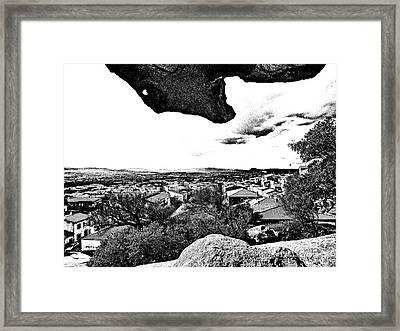 Arzachena Landscape Framed Print