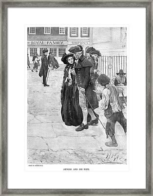 Benedict Arnold (1741-1801) Framed Print by Granger