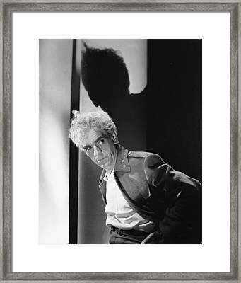 Boris Karloff Framed Print by Silver Screen