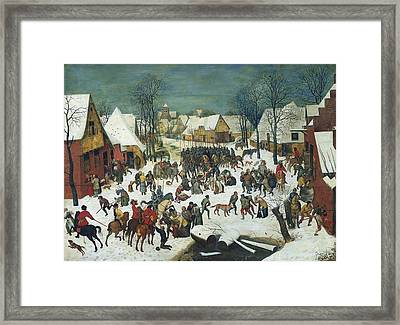 Breugel, Pieter, The Elder, Called Framed Print by Everett