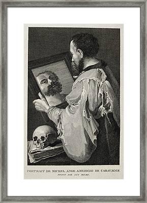 Caravaggio, Michelangelo Merisi Da Framed Print