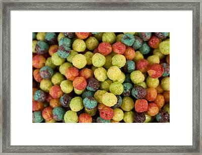 Cereal Framed Print by JP Tripp