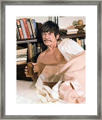 Charles Bronson Framed Print by Silver Screen