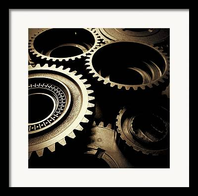 Gearbox Framed Prints