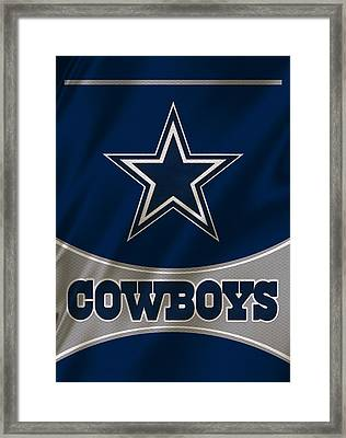 Dallas Cowboys Uniform Framed Print