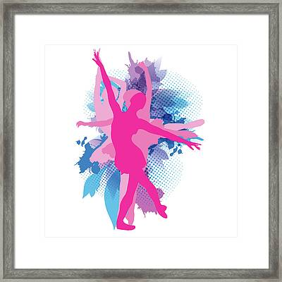 Dance And Ballet Framed Print