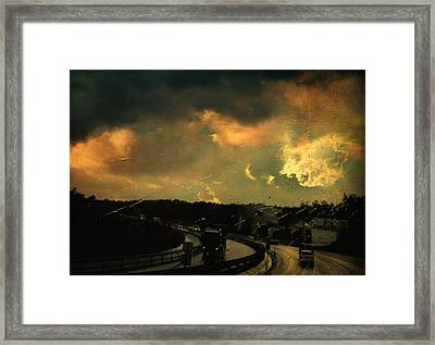 12 Days Of Rain Framed Print by Taylan Apukovska