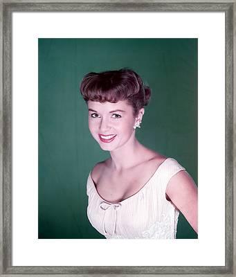 Debbie Reynolds Framed Print