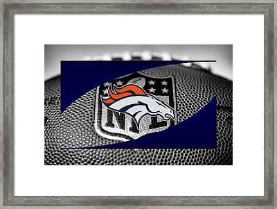 Denver Broncos Framed Print