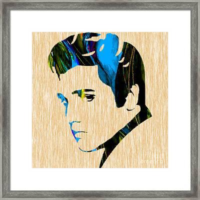 Elvis Framed Print by Marvin Blaine