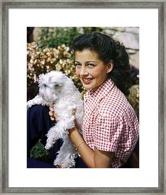 Gail Russell Framed Print by Silver Screen