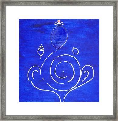 16 Ganesh Framed Print