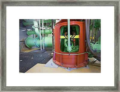 Geothermal Power Station Framed Print by Ashley Cooper
