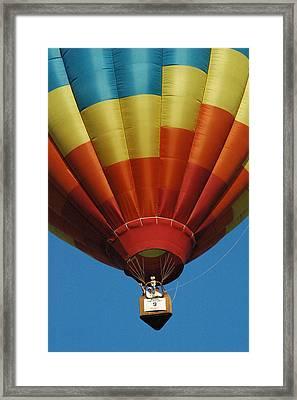 Hot Air Balloon Framed Print by Gary Marx