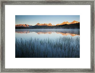 Idaho, Sawtooth National Recreation Framed Print