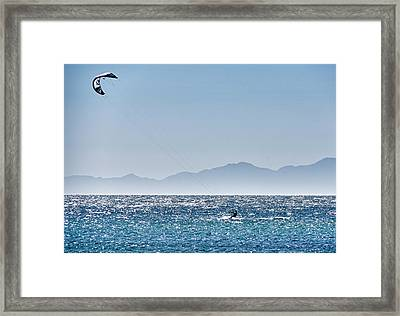 Isla De Espiritu Santo, Baja, Mexico Framed Print
