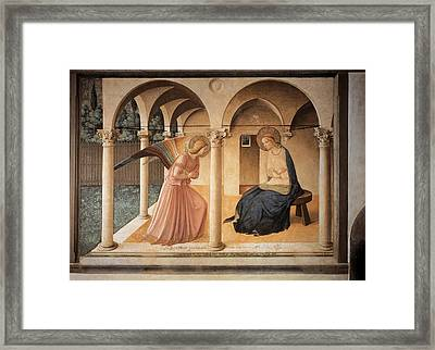 Italy, Lombardy, Milan, Refectory Framed Print by Everett