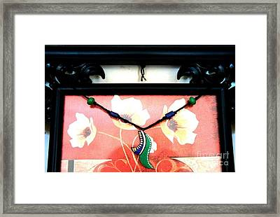 Jewellery Framed Print by 48craft