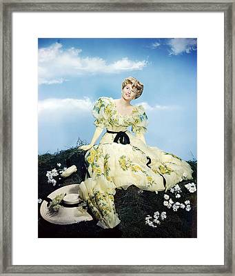 Joan Fontaine Framed Print