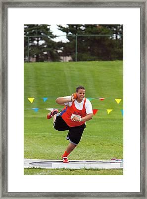 Junior Olympics Framed Print