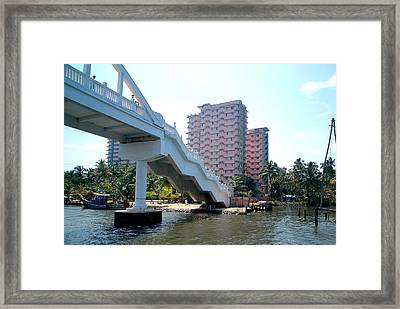Kerala Backwater Framed Print