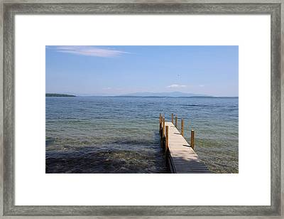 Lake Winnipesaukee Framed Print