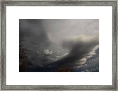 Let The Storm Season Begin Framed Print