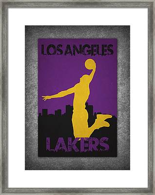 Los Angeles Lakers Framed Print