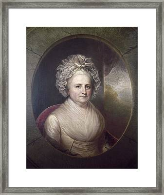 Martha Washington Framed Print