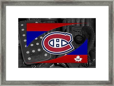 Montreal Canadiens Framed Print by Joe Hamilton