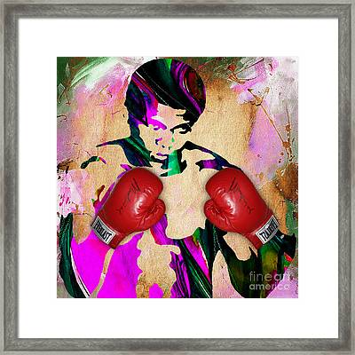 Muhammad Ali Collection Framed Print