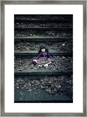 Old Doll Framed Print