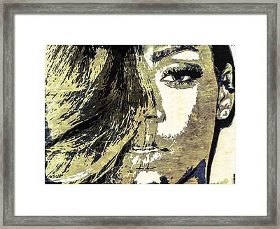 Rihanna Framed Print by Svelby Art