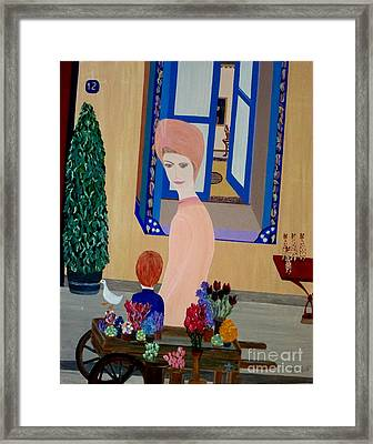 Framed Print featuring the painting 12 Rue Cadet by Bill OConnor