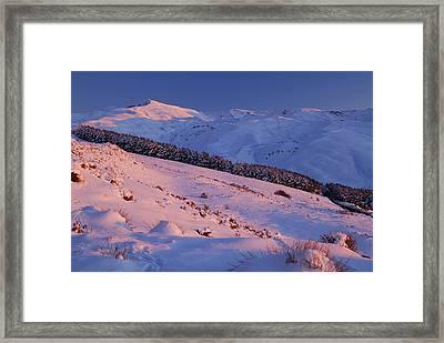 Sierra Nevada Framed Print by Guido Montanes Castillo
