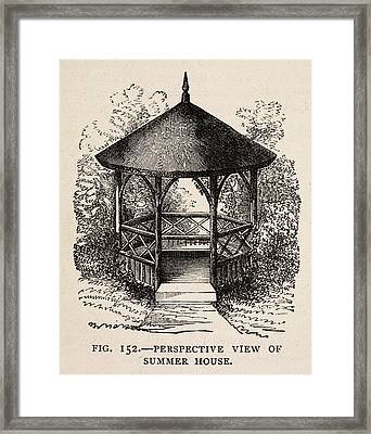 The Book Of Garden Management And Rural E Framed Print by British Library